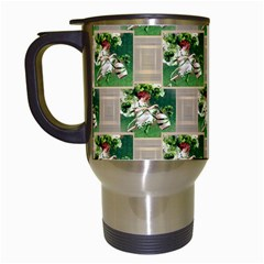 Victorian St Patrick s Day Travel Mug (White)