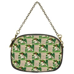 Victorian St Patrick s Day Chain Purse (One Side)