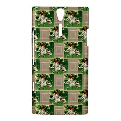 Victorian St Patrick s Day Sony Xperia S Hardshell Case