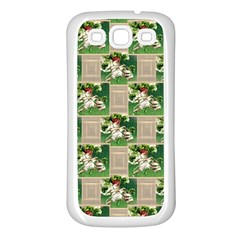 Victorian St Patrick s Day Samsung Galaxy S3 Back Case (White)