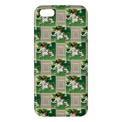 Victorian St Patrick s Day iPhone 5S Premium Hardshell Case