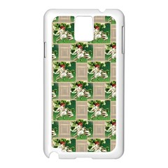 Victorian St Patrick s Day Samsung Galaxy Note 3 Case (White)