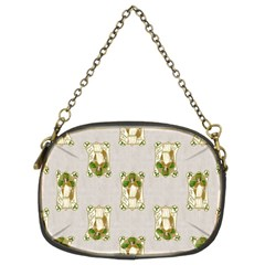 Victorian St Patrick s Day Chain Purse (Two Sided)