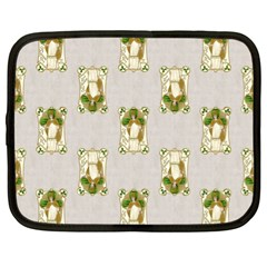 Victorian St Patrick s Day Netbook Sleeve (XL)