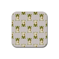 Victorian St Patrick s Day Drink Coaster (Square)