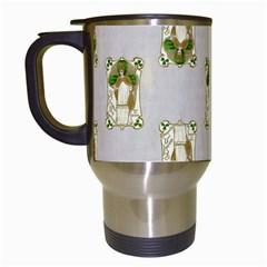 Victorian St Patrick s Day Travel Mug (White)