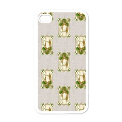 Victorian St Patrick s Day Apple iPhone 4 Case (White)