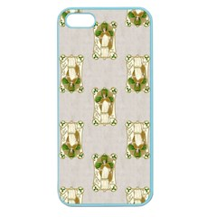 Victorian St Patrick s Day Apple Seamless iPhone 5 Case (Color)