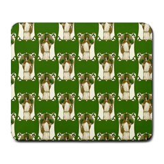 Victorian St Patrick s Day Large Mouse Pad (Rectangle)