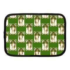 Victorian St Patrick s Day Netbook Sleeve (Medium)