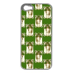 Victorian St Patrick s Day Apple iPhone 5 Case (Silver)