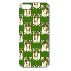 Victorian St Patrick s Day Apple Seamless iPhone 5 Case (Clear)