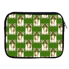 Victorian St Patrick s Day Apple iPad Zippered Sleeve