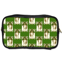 Victorian St Patrick s Day Travel Toiletry Bag (One Side)