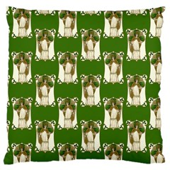 Victorian St Patrick s Day Large Cushion Case (Single Sided)