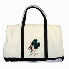 Victorian St Patrick s Day Two Toned Tote Bag