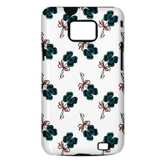Victorian St Patrick s Day Samsung Galaxy S II i9100 Hardshell Case (PC+Silicone)