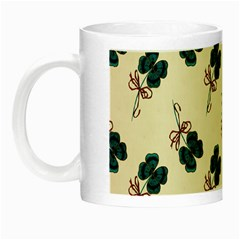 Victorian St Patrick s Day Glow in the Dark Mug