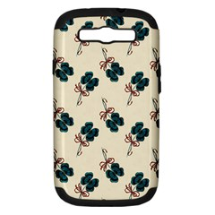Victorian St Patrick s Day Samsung Galaxy S III Hardshell Case (PC+Silicone)