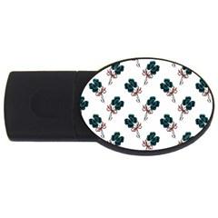 Victorian St Patrick s Day 1GB USB Flash Drive (Oval)