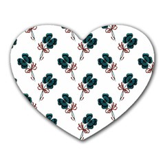Victorian St Patrick s Day Mouse Pad (Heart)