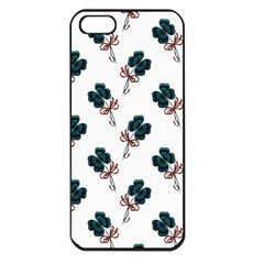 Victorian St Patrick s Day Apple iPhone 5 Seamless Case (Black)