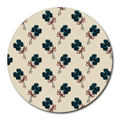 Victorian St Patrick s Day 8  Mouse Pad (Round)
