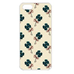 Victorian St Patrick s Day Apple iPhone 5 Seamless Case (White)