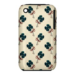 Victorian St Patrick s Day Apple iPhone 3G/3GS Hardshell Case (PC+Silicone)