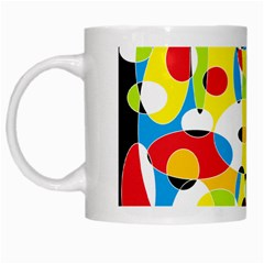 Interlocking Circles White Coffee Mug