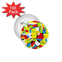 Interlocking Circles 1.75  Button (100 pack)