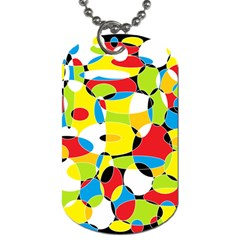 Interlocking Circles Dog Tag (one Sided)