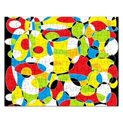 Interlocking Circles Jigsaw Puzzle (rectangle)
