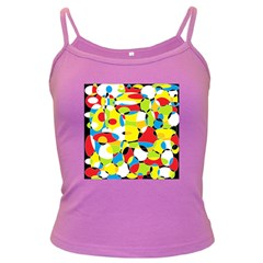 Interlocking Circles Spaghetti Top (Colored)