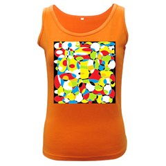 Interlocking Circles Women s Tank Top (dark Colored)