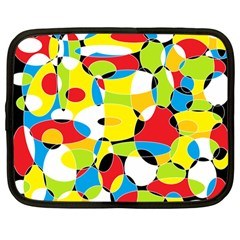 Interlocking Circles Netbook Sleeve (Large)