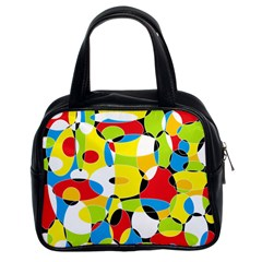 Interlocking Circles Classic Handbag (two Sides)