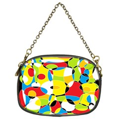 Interlocking Circles Chain Purse (One Side)
