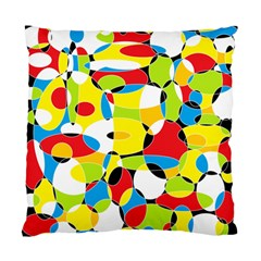 Interlocking Circles Cushion Case (Two Sided)