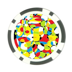 Interlocking Circles Poker Chip (10 Pack)