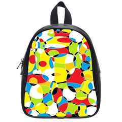 Interlocking Circles School Bag (small)