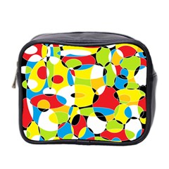 Interlocking Circles Mini Travel Toiletry Bag (Two Sides)