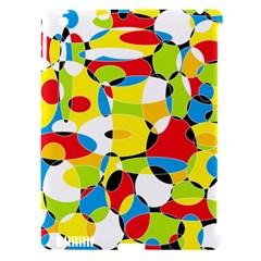 Interlocking Circles Apple iPad 3/4 Hardshell Case (Compatible with Smart Cover)