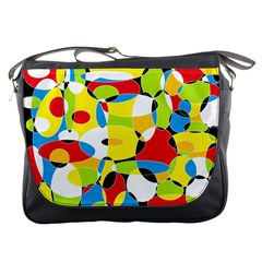 Interlocking Circles Messenger Bag
