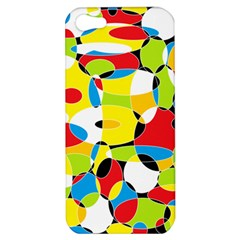 Interlocking Circles Apple Iphone 5 Hardshell Case
