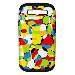 Interlocking Circles Samsung Galaxy S Iii Hardshell Case (pc+silicone)