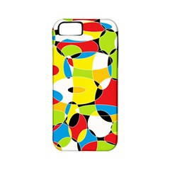 Interlocking Circles Apple iPhone 5 Classic Hardshell Case (PC+Silicone)