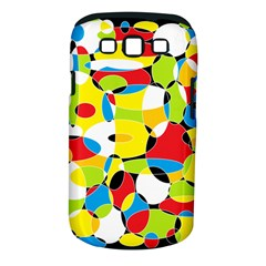 Interlocking Circles Samsung Galaxy S III Classic Hardshell Case (PC+Silicone)