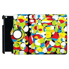 Interlocking Circles Apple Ipad 3/4 Flip 360 Case