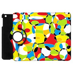 Interlocking Circles Apple iPad Mini Flip 360 Case